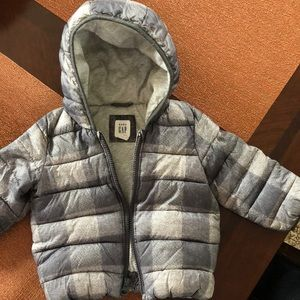 Warm down baby gap jacket